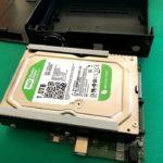 USB-HDDデータ復旧作業