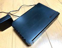 NASのバックアップ用HDDが認識しなくなった交換作業