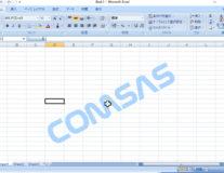 Windows10のExcel2007で十字カーソルが点滅する