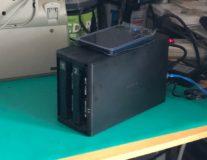 NAS(Linkstation)HDD換装-1TB×2本→3TB×2本