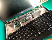 小山市-パソコン修理サポート-FMVノートパソコンのニコイチ修理