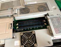 小山市パソコン修理サポート-NEC(C2D-E8400)一体型パソコンSSD換装